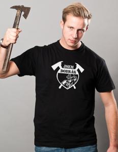 Pánské sportovní tričko Hasič dobrák