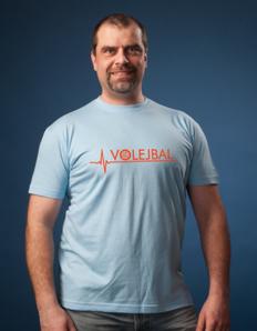 Pánské sportovní tričko Volejbal plus