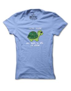 Dámské tričko s potiskem Želva