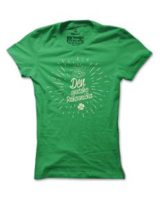 Dámské tričko s potiskem Rákosníček