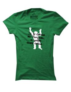 Dámské tričko s potiskem Opičák