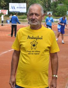 Pánské sportovní tričko Nohejbal zábava