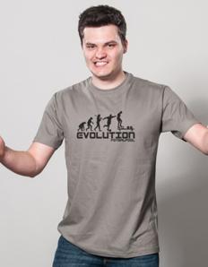 Pánské sportovní tričko Evoluce footballpool