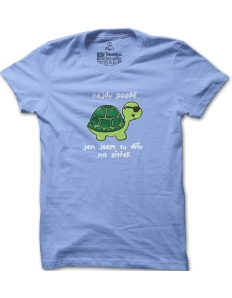 Pánské tričko s potiskem Želva