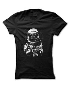 Dámské tričko s potiskem Need more space