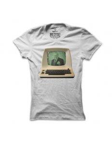 Dámské tričko s potiskem Ajťák Zeman
