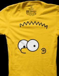 Dámské tričko s potiskem Žlutej rebel