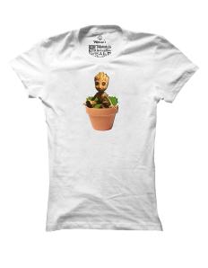 Dámské tričko s potiskem Baby Groot