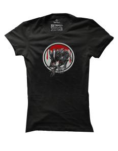 Dámské tričko s potiskem Vetřelec