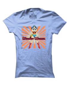 Dámské tričko s potiskem Wonder Woman