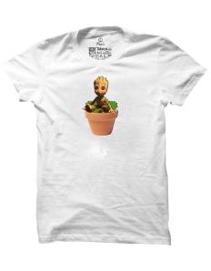 Pánské tričko s potiskem Baby Groot