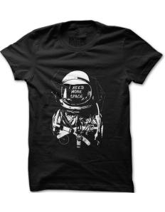 Pánské tričko s potiskem Need more space