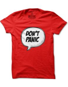Pánské tričko s potiskem Panic