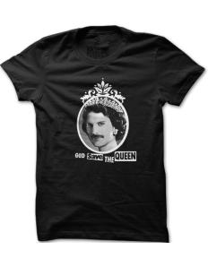 Pánské tričko s potiskem Save the Queen