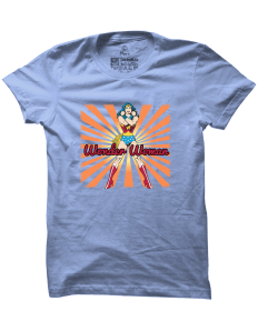 Pánské tričko s potiskem Wonder Woman