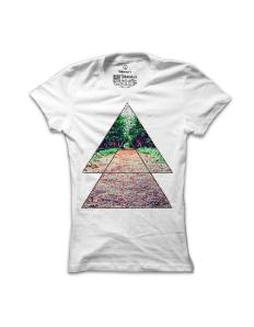 Dámské tričko s potiskem Lesní sen