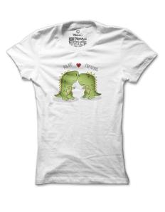 Dámské tričko s potiskem T-lover