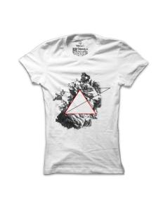 Dámské tričko s potiskem Mračna