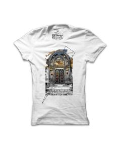 Dámské tričko s potiskem Vysněná brána
