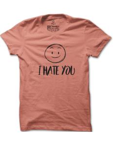Pánské tričko s potiskem Roztomilý hater