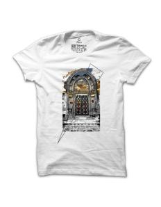 Pánské tričko s potiskem Vysněná brána