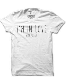 Pánské tričko s potiskem Friday lover