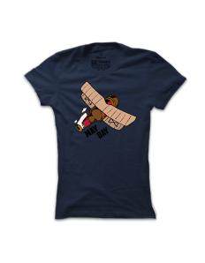 Dámské tričko s potiskem Mayday