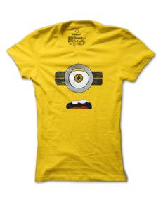 Dámské tričko s potiskem Natvrdlý mimoň