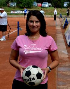 Dámské tričko Nohejbalová máma