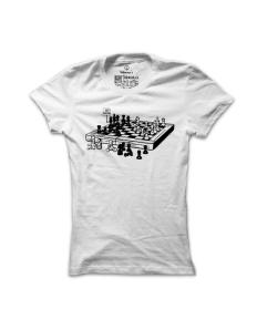 Dámské tričko s potiskem Fér zahraný