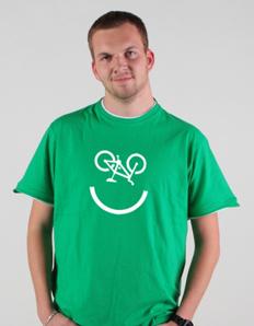 Pánské tričko Cykloúsměv