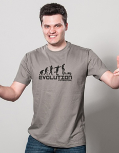Pánské tričko Evoluce fotbalpool