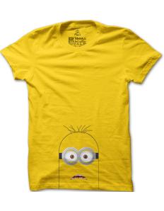 Pánské tričko s potiskem Mimoň vykuk