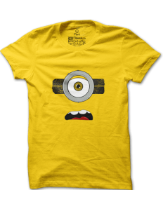Pánské tričko s potiskem Natvrdlý mimoň