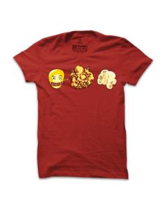 Pánské tričko s potiskem Popcorn