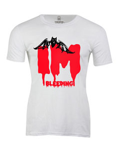 Pánské tričko s potiskem I´m bleeding