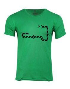 Pánské tričko s potiskem Retro snake