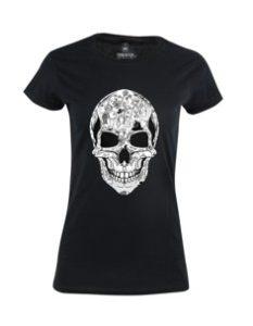 Dámské tričko s potiskem La Calavera 1