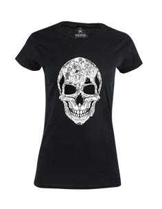 Dámské tričko s potiskem La Calavera