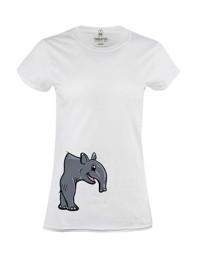 Dámské tričko s potiskem PůlTapír