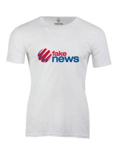 Pánské tričko s potiskem Fake news