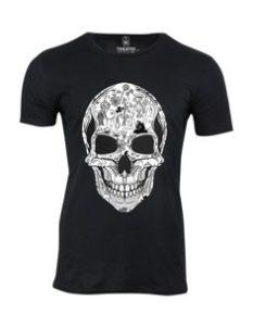 Pánské tričko s potiskem La Calavera 1