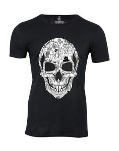 Pánské tričko s potiskem La Calavera