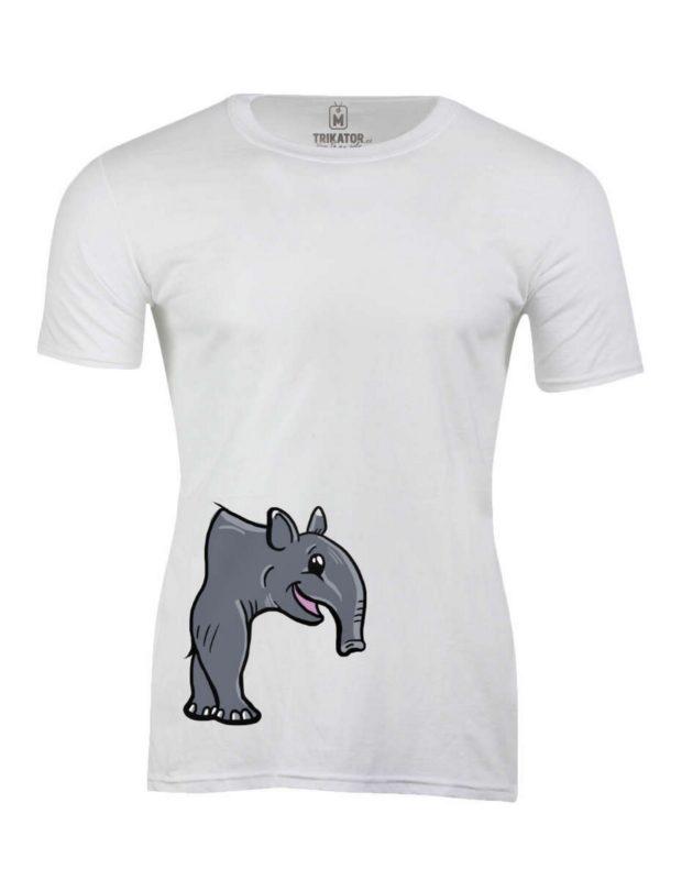 Pánské tričko s potiskem PůlTapír