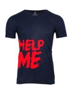 Pánské tričko s potiskem Help me