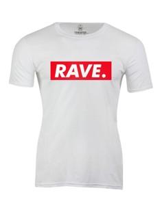 Pánské tričko s potiskem Rave