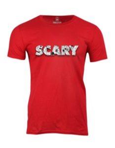 Pánské tričko s potiskem Scary