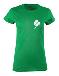 Dámské tričko s potiskem Lucky hearth