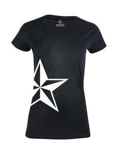Dámské tričko s potiskem Pale star