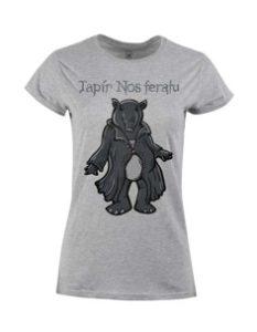 Dámské tričko s potiskem Tapír Nosferatu